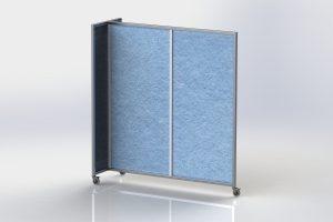 20160112 - Ezo Mobile Wall - 2 panels